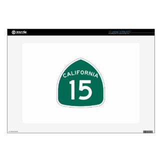 Ruta 15 del estado de California 38,1cm Portátil Calcomanía