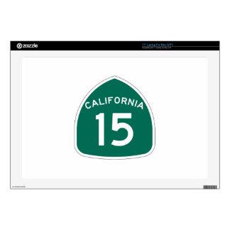 Ruta 15 del estado de California Skins Para Portátil