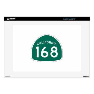 Ruta 168 del estado de California Skins Para Portátil