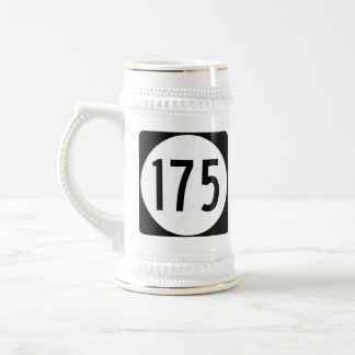 Ruta 175 del estado de Iowa Jarra De Cerveza