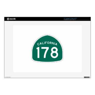 Ruta 178 del estado de California Portátil 38,1cm Skin
