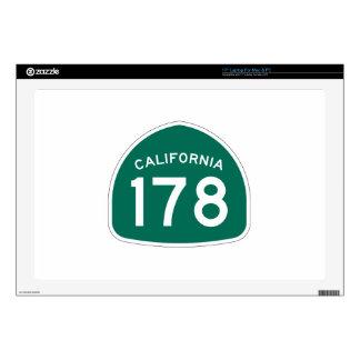 Ruta 178 del estado de California Skins Para Portátiles