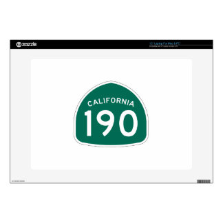 Ruta 190 del estado de California Portátil 38,1cm Skin