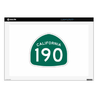 Ruta 190 del estado de California Skins Para 43,2cm Portátiles