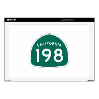 Ruta 198 del estado de California Calcomanías Para Portátiles