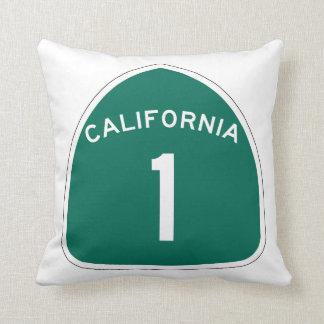Ruta 1, California, los E.E.U.U. del estado Cojín