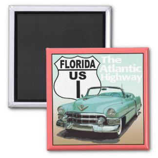 Ruta 1 de la Florida los E.E.U.U. - la carretera a Imán Cuadrado