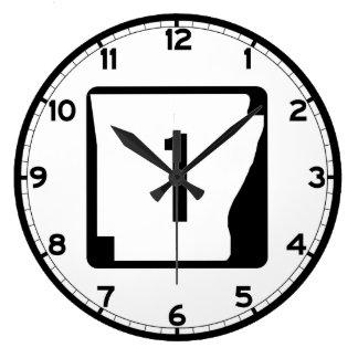 Ruta 1 del estado de Arkansas Reloj Redondo Grande