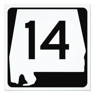 """Ruta 1, xxxx, los E.E.U.U. del estado Invitación 5.25"""" X 5.25"""""""