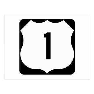 Ruta 1, xxxx, los E.E.U.U. del estado Postal