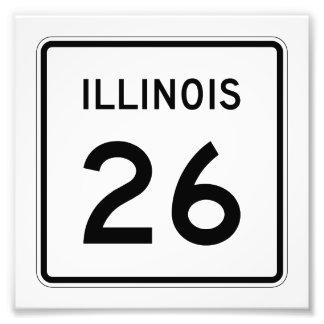 Ruta 26 de Illinois Fotografías