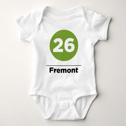 Ruta 26 - Fremont Playera
