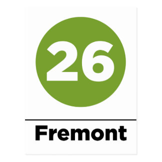 Ruta 26 - Fremont Tarjeta Postal