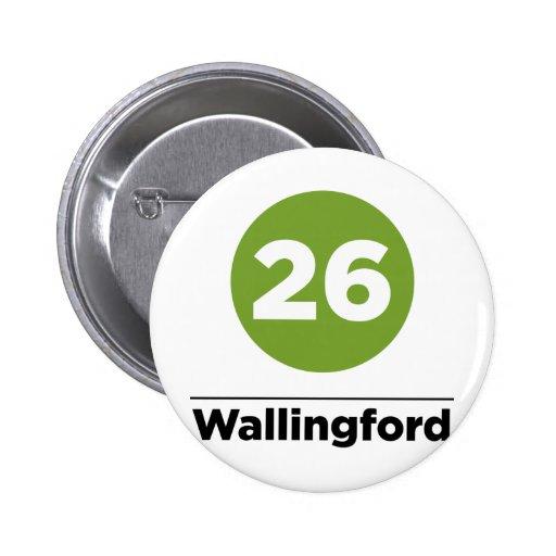 Ruta 26 - Wallingford Pin