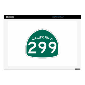 Ruta 299 del estado de California Portátil Calcomanía