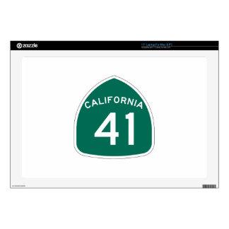 Ruta 41 del estado de California Portátil Skins