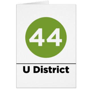 Ruta 44 tarjeta de felicitación