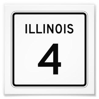 Ruta 4 de Illinois Fotografía