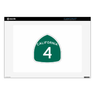 Ruta 4 del estado de California Portátil Skins