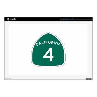 Ruta 4 del estado de California Skins Para Portátil