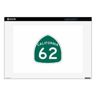 Ruta 62 del estado de California 38,1cm Portátil Calcomanía