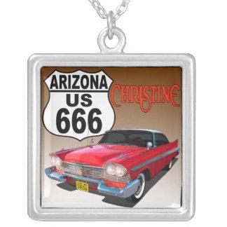 Ruta 666 de Arizona los E.E.U.U. - Christine Colgante Cuadrado