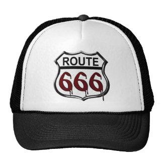 Ruta 666 gorras