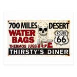 Ruta 66 - 700 millas abandonan la muestra del postal