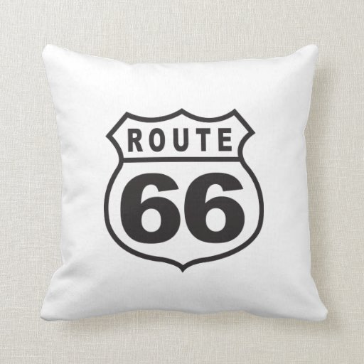 Ruta 66 almohada