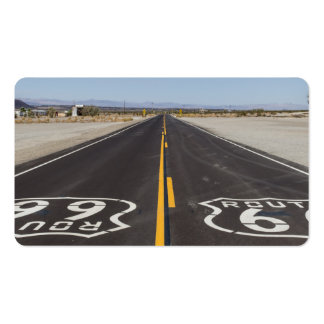 Ruta 66, Amboy (California, los E.E.U.U.) Plantillas De Tarjetas Personales