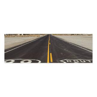 Ruta 66, Amboy (California, los E.E.U.U.) Tarjetas De Visita