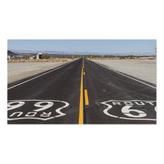 Ruta 66, Amboy (California, los E.E.U.U.) Tarjeta Personal