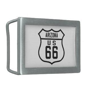 Ruta 66 - Arizona Hebilla Cinturon
