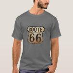 Ruta 66 - Camiseta oscura básica