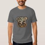 Ruta 66 - Camiseta oscura básica Remeras