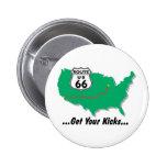 Ruta 66: Consiga sus retrocesos Pin