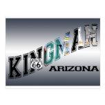 ruta 66 de Arizona del kingman Tarjetas Postales