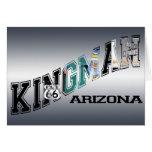 ruta 66 de Arizona del kingman Tarjeton
