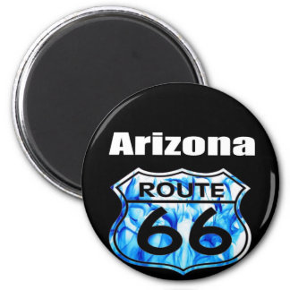 Ruta 66 de Arizona Imán Redondo 5 Cm