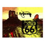 Ruta 66 de Arizona occidental Postal