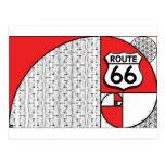 Ruta 66 de Giganticus Headicus del ganticus de la  Postales