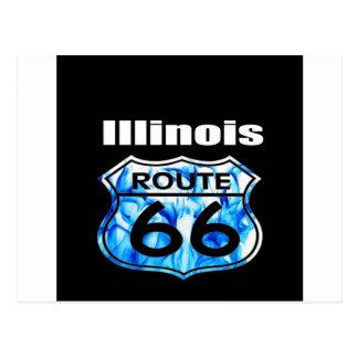 Ruta 66 de Illinois Postal