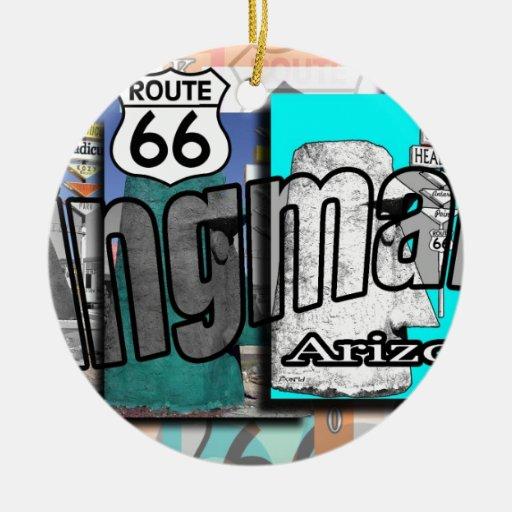 Ruta 66 de Kingman Arizona Adorno Para Reyes