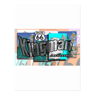 Ruta 66 de Kingman Arizona Postal