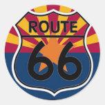 Ruta 66 de la bandera de Arizona Etiquetas
