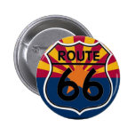 Ruta 66 de la bandera de Arizona Pins