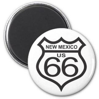 Ruta 66 de New México los E E U U Imanes De Nevera