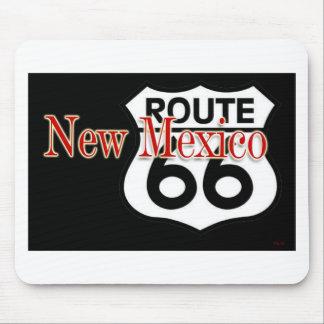 Ruta 66 de New México Alfombrillas De Raton