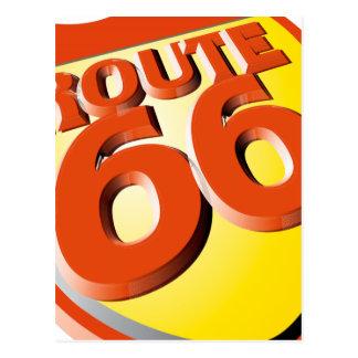 Ruta 66 de Oxygentees Postal