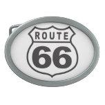 Ruta 66 hebilla de cinturón